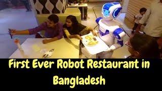 Robot Restaurant in Bangladesh