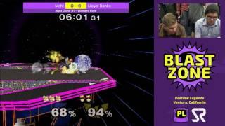bz1 mchi fox vs lloyd banks c falcon ssbm winners ro16 smash melee