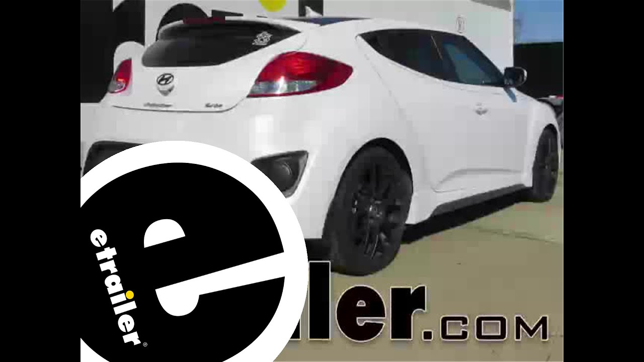 small resolution of trailer hitch installation 2013 hyundai veloster curt etrailer com