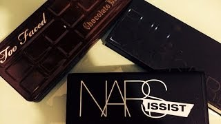 ❤ HAUL OF PALETTES!!! (NARSISSIST, CHOCCOLATE BAR, FULL EXPOSURE)