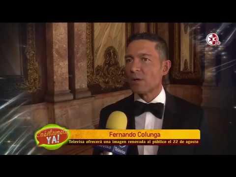 Fernando Colunga es parte del cambio de Televisa