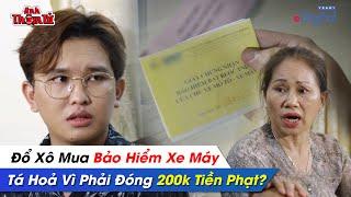 Phá Án #99 - ĐỔ XÔ Mua BẢO HIỂM XE MÁY, TÁ HOẢ Vì Phải Đóng 200K TIỀN PHẠT ?| Anh Thám Tử Vinh Trần