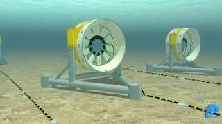 CG Animation presentation of Seabed Turbines