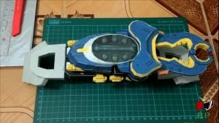 Kamen Rider Gatack's Zecter & Belt Papercraft