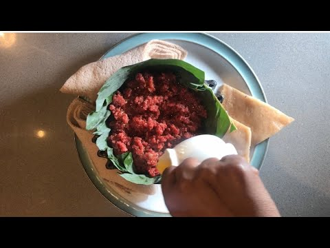 How to Make Kitfo- Ethiopian Food/ምርጥ የጉራጌ ክትፎ አሰራር
