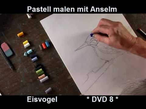 pastell malen mit anselm der eisvogel dvd youtube. Black Bedroom Furniture Sets. Home Design Ideas
