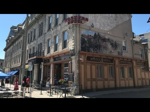 Guelph, Ontario, Canada - SHORT FLYING & DRIVING & WALKING TOUR - University