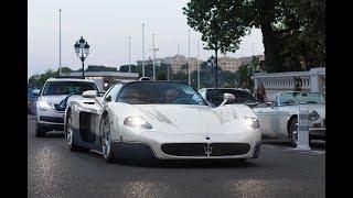 Maserati MC12 driving in Monaco !!!