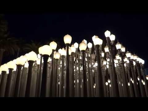 Los Angeles, California - LACMA Urban Light HD (2014)