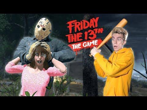 СПАСАЮ ДЕВУШКУ ОТ ДЖЕЙСОНА В ПЯТНИЦУ 13 😈 Выживание в Friday The 13th: The Game