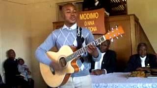 Sidney Ramphalile sings