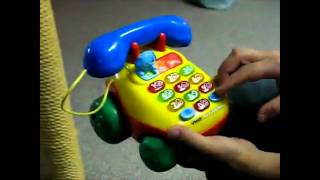 How to get the baby phone toy to curse [Techno Remix]