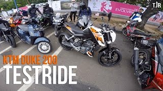 SuperMiniDuke? KTM DUKE 200 TESTRIDE (bukan review)