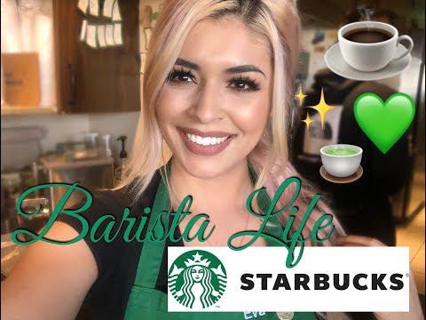 Working As A Starbucks Barista   Vlog
