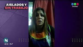 Aislados y sin ingresos: más testimonios de cordobeses en cuarentena