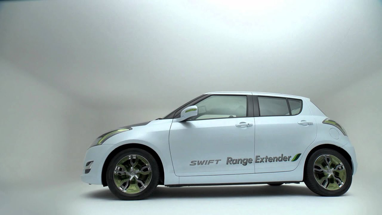 suzuki swift ev with range extender concept youtube. Black Bedroom Furniture Sets. Home Design Ideas