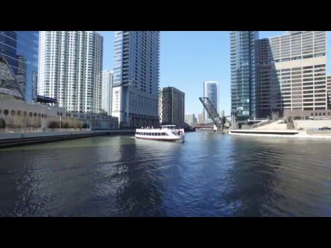 Chicago Aerial Footage 4k