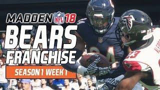 Madden NFL 18 - Bears Franchise Ep. 3 - Week 1 vs. Falcons [Season 1]