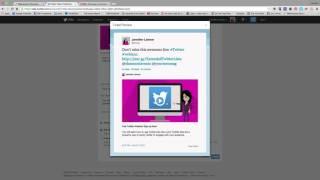 Ücretsiz Twitter Video Reklam Oluşturma