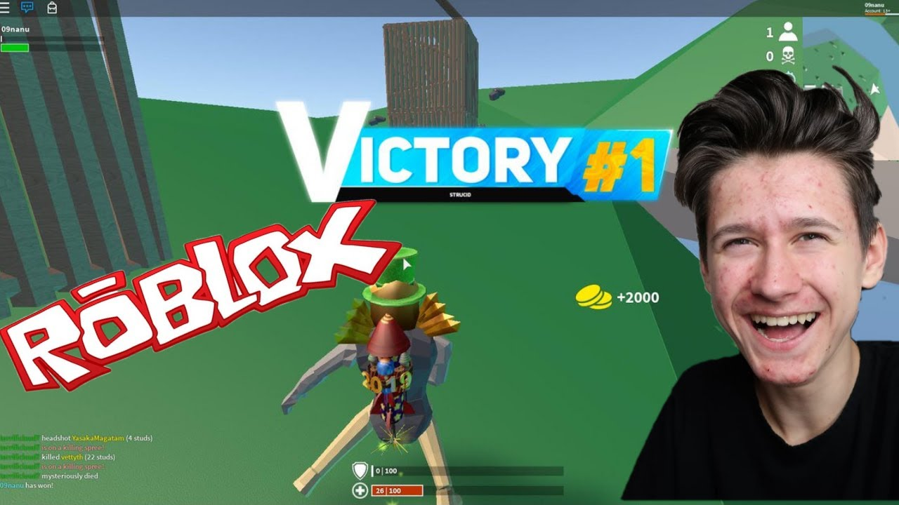 Fortnite In Roblox Strucid Youtube