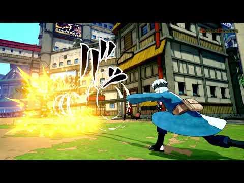 New Shinobi Striker Screenshots Of Sarada, Mitsuki, And New Konoha Map
