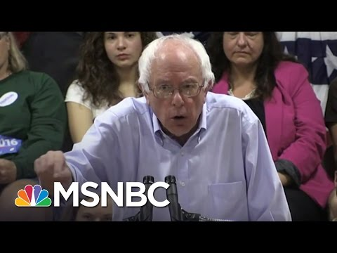 Bernie Sanders Attacks The One Percent | MSNBC
