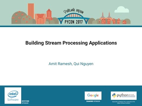Image from Building Stream Processing Applications