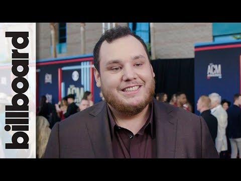 Luke Combs Talks 'Beautiful Crazy' Potential Record Breaking Success | ACM Awards