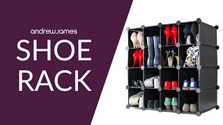 Andrew James Shoe Rack