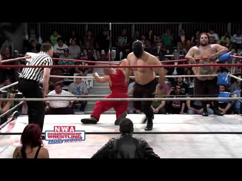 James Morgan & Cedric The Hitman Vs. Terex & K-Man - NWA Hollywood (HD) (6/10/12)