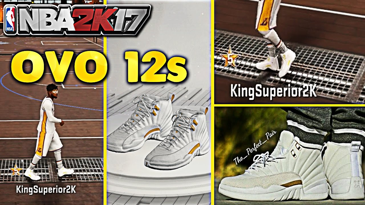 HOW TO GET RETRO OVO 12s Jordans Shoe Easiest Way To Make Retro's Tutorial  NBA 2K17 Mypark OVO Drake