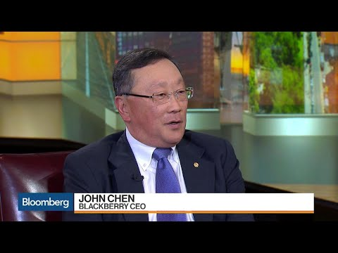BlackBerry CEO Chen on Growth, Software, Acquisitions