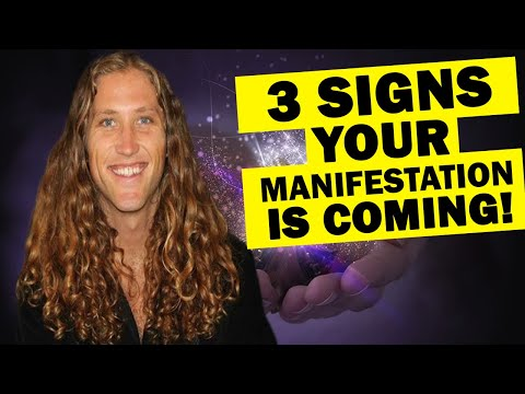 3 Unexpected Signs Your Manifestation is Coming Your Way | Law of Attraction