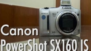 Canon Powershot SX160 IS - Video Review