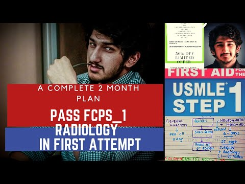 How to Pass Fcps Part 1 in Radiology In first Attempt | In 2 Months | The Real Truth | Made Simple #MedicalRadiology