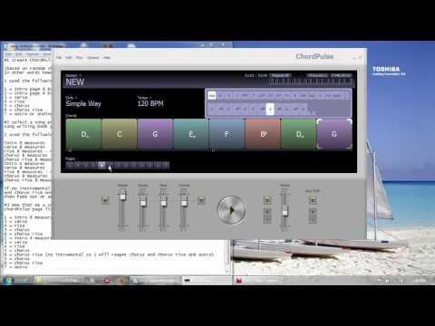 ChordPulse training 1 by PC - YouTube