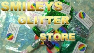 SMILEYS GLITTER REVIEW ~ WOW! | ABSOLUTE NAILS