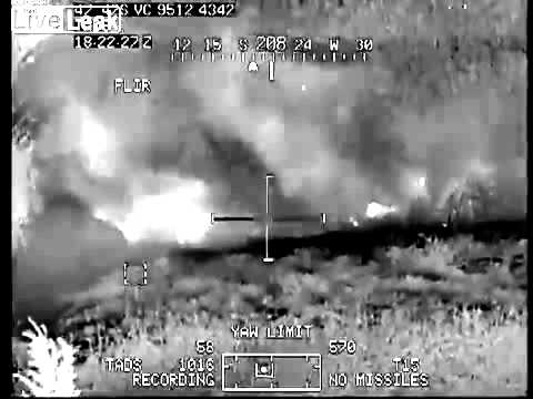 Two Taliban Insurgents Annihilated by Hellfire Missile Afghan