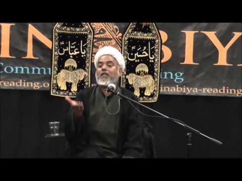 Moulana M Hassan Marufi Muharram 2014 Majlis 9