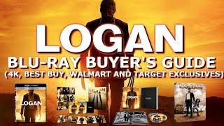 LOGAN - BLURAY UNBOXING (BEST BUY, WALMART, TARGET EXCLUSIVES) | BLURAY BUYERS GUIDE