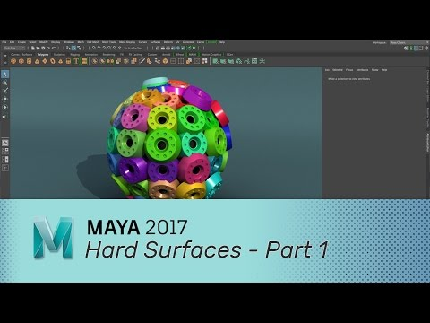 Maya 2016  Hard Surface Modeling Part 1