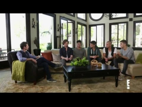Ryan Seacrest and The Wanted