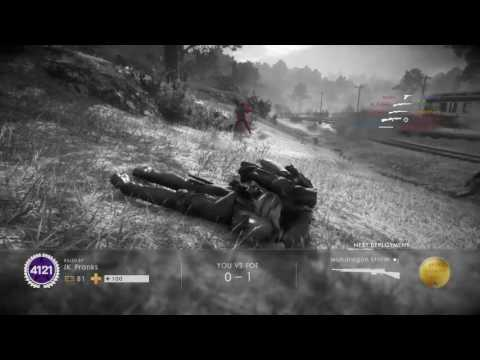 BATTLEFIELD 1 MR NASTY TIME KILLING SPREE ADRENALINE RUSH AN