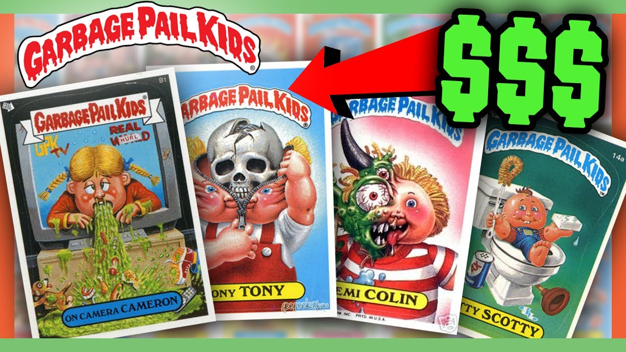 4c81bad6aa2 GARBAGE PAIL KIDS CARDS WORTH MONEY - MOST VALUABLE CARDS!! - YouTube