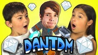 Kids React to TheDiamondMinecart (DanTDM)