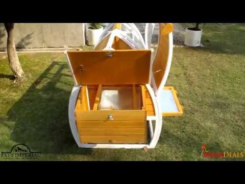 Pan Video - Pets Imperial® Dorchester Chicken Coop (MEGA)