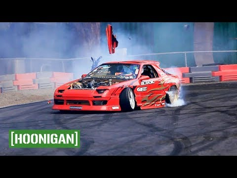 [HOONIGAN] Unprofessionals EP8: Smashing cars at Pat's Acres Racing Complex (PARC) in Oregon