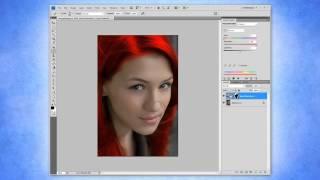 Изменение цвета волос в Photoshop