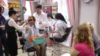 Мастер-класс по завивке волос от Студии завивок и ТМ Intercosmo