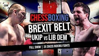 International Chessboxing Brexit Belt